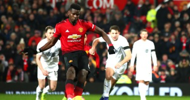 Манчестер Юнайтед - Бернли 2:2 видео голов и обзор матча чемпионата Англии