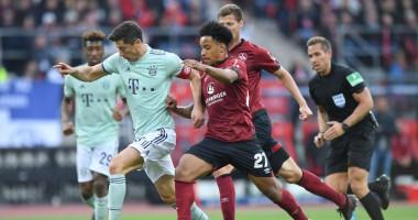 Нюрнберг - Бавария 1:1 видео голов и обзор матча чемпионата Германии