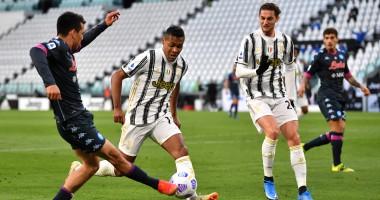 Ювентус — Наполи 2:1 видео голов и обзор матча чемпионата Италии