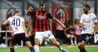 Милан - Кальяри 3:0 видео голов и обзор матча чемпионата Италии