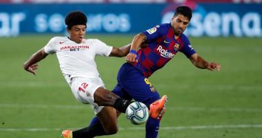 Севилья - Барселона 0:0 обзор матча Ла Лиги