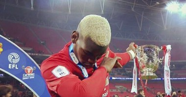 Игрок Манчестер Юнайтед исполнил дэб на Великой Китайской стене