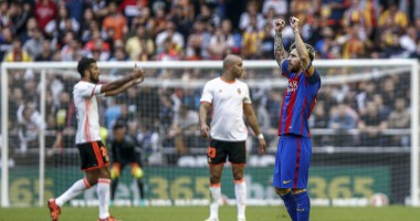 Валенсия - Барселона 2:3 Видео голов и обзор матча чемпионата Испании