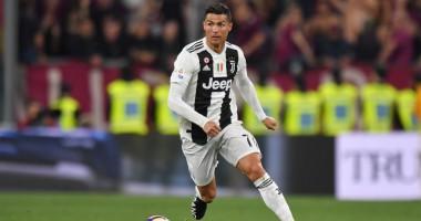 Роналду забил юбилейный 100-й гол головой
