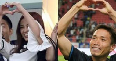 Защитник Интера сделал предложение на стадионе