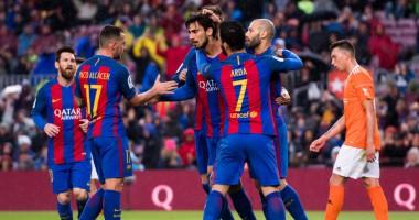 Барселона - Осасуна 7:1 Видео голов и обзор матча чемпионата Испании