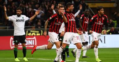 Милан - Сассуоло 1:0 видео обзор матча
