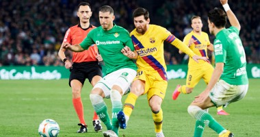 Бетис - Барселона 2:3 видео голов и обзор матча чемпионата Испании