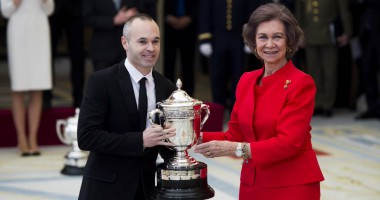 Капитан Барселоны получил премию королевы Софии