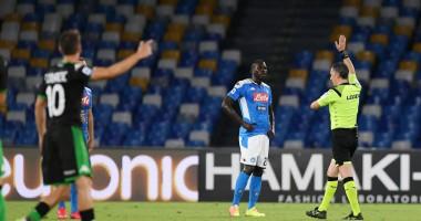 Наполи - Сассуоло 2:0 видео голов и обзор матча чемпионата Италии