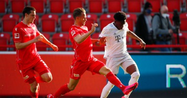Унион - Бавария 0:2 видео голов и обзор матча Бундеслиги