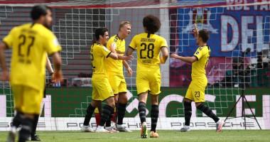 Лейпциг - Боруссия Д 0:2 видео голов и обзор матча чемпионата Германии