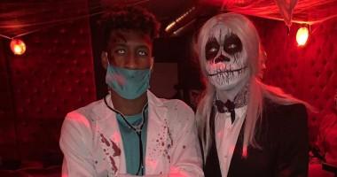 Игроки Баварии поразили своими устрашающими костюмами на Хэллоуин