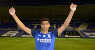 Бирмингем вывел из обращения номер в честь 17-летнего футболиста