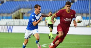 Брешия - Рома 0:3 видео голов и обзор матча чемпионата Италии