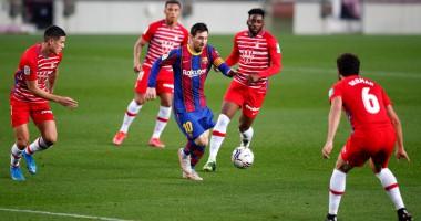 Барселона - Гранада 1:2 видео голов и обзор матча чемпионата Испании