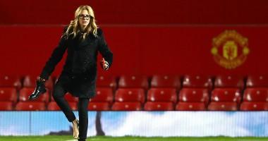Джулия Робертс на Олд Траффорд: Голливудская звезда посетила матч МЮ