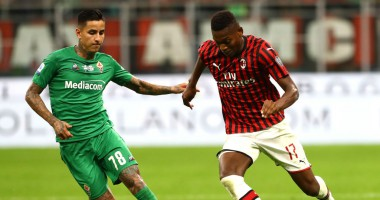 Милан - Фиорентина 1:3 видео голов и обзор матча Серии А