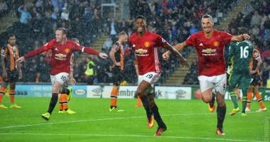 Халл Сити - Манчестер Юнайтед 0:1 Видео гола и обзор матча чемпионата Англии