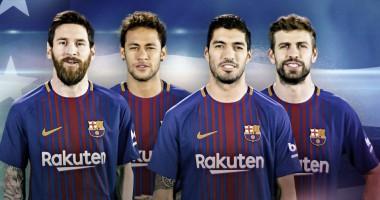 Барселона убрала Неймара с постера возле своего стадиона