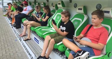 Вольфсбург открыл домашний стадион для пользователей Pokemon GO