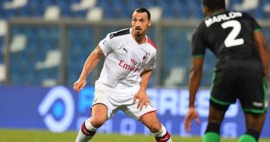 Сассуоло - Милан 1:2 видео голов и обзор матча чемпионата Италии