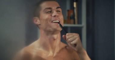 Роналду снялся в рождественской рекламе в стиле фильма Один дома