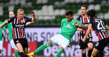 Вердер - Айнтрахт 0:3 видео голов и обзор матча Бундеслиги