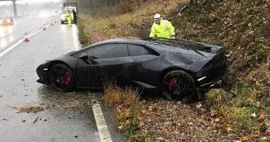 Игрок Лестера разбил Lamborghini за 200 тысяч евро