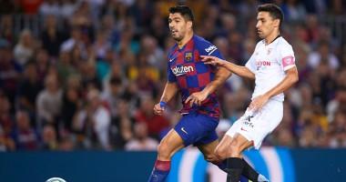 Барселона - Севилья 4:0: видео голов и обзор матча чемпионата Испании