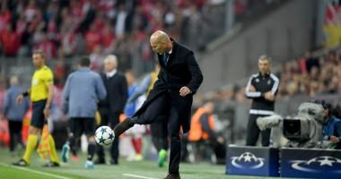 Есть еще порох в пороховницах: Зидан показал, на что способен на тренировке Реала