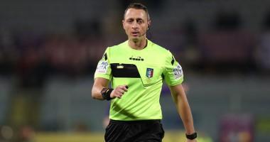 Арбитра, назначившего спорный пенальти в ворота Интера, отстранили от работы
