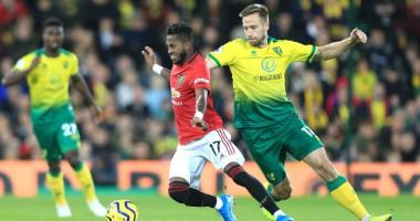 Норвич - Манчестер Юнайтед 1:3 видео голов и обзор матча АПЛ