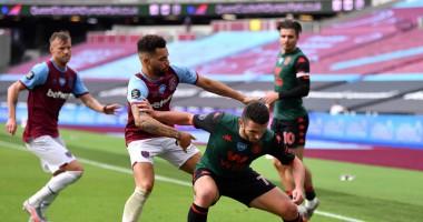 Вест Хэм - Астон Вилла 1:1 видео голов и обзор матча чемпионата Англии