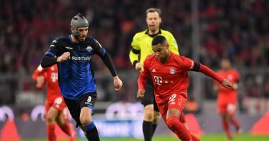 Бавария - Падерборн 3:2 видео голов и обзор матча чемпионата Германии