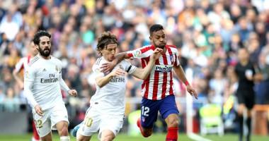 Реал - Атлетико 1:0 видео гола и обзор матча чемпионата Испании