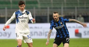 Интер — Аталанта 2:2 видео голов и обзор матча чемпионата Италии