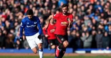 Эвертон - Манчестер Юнайтед 1:1 видео голов и обзор матча АПЛ