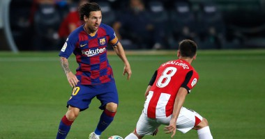 Барселона - Атлетик 1:0 видео гола и обзор матча чемпионата Испании