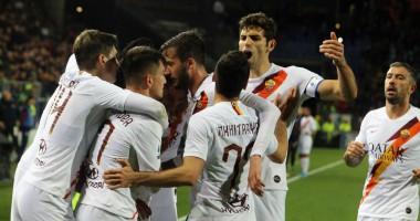Кальяри - Рома 3:4 видео голов и обзор матча Серии А