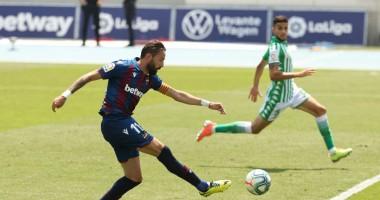 Леванте - Бетис 4:2 видео голов и обзор матча Ла Лиги