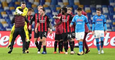 Наполи - Милан 1:3 Видео голов и обзор матча чемпионата Италии