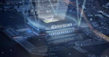 Эвертон представил проект нового дорогостоящего стадиона