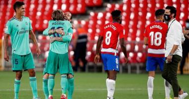 Гранада - Реал 1:2 видео голов и обзор матча чемпионата Испании