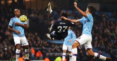 Манчестер Сити - Эвертон 2:1 видео голов и обзор матча