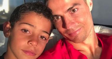 Сын Роналду - лучший игрок Ювентуса на детском турнире
