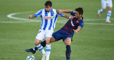 Леванте - Реал Сосьедад 1:1 видео голов и обзор матча чемпионата Испании