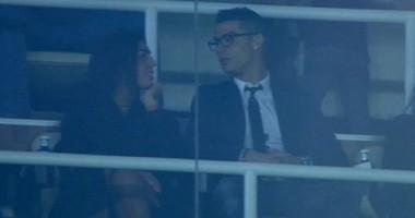 Роналду пришел на матч Реала с новой девушкой