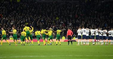 Тоттенхэм - Норвич 1:1 (по пен. 2:3) видео голов и обзор матча Кубка Англии