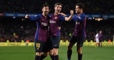 Барселона — Севилья 6:1 Видео голов и обзор матча Кубка Испании